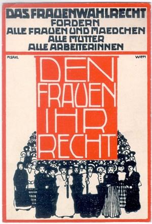 Ausstellung Frauenwahlrecht